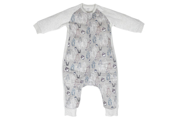 Raglan Bamboo Long Sleeve Sleep Suit | Deep Woods 2.5 TOG