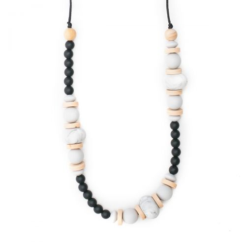 Teething Necklace | Blakely Teething Jewelry Bella Tunno - O&Lo