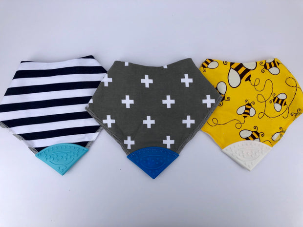 Teething Drool Bibs | Crosses