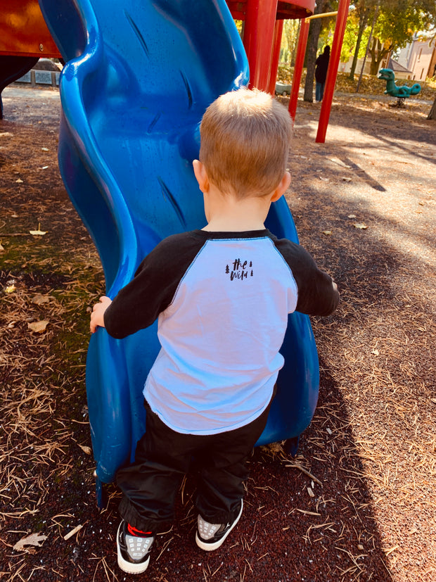 Kids Baseball Tee | Skylar the Shark