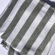 Car Seat Canopy | Grey Stripes, Multi-Use Covers, O&Lo - O&Lo