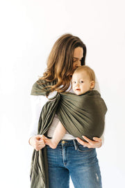 Baby Ring Sling | Evergreen, Baby Carrier Sling, Kyte Baby - O&Lo