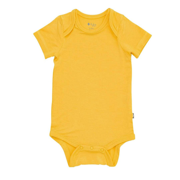 Bamboo Short Sleeve Onesie | Pineapple