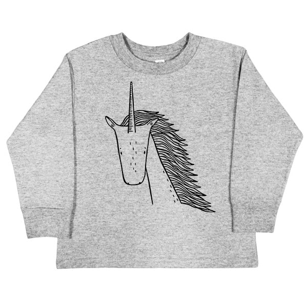 Long Sleeve Tee | Ulysses the Unicorn