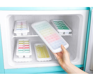 White Ice Cube Trays Treats Molds