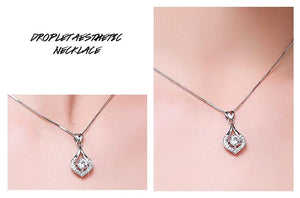 60%OFF Mother's Day Special-Twinkling Heart Waterdrop Stone Necklace