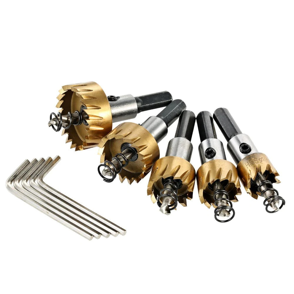 Multi-specification Drill Bit Hole Drilling Set - 38% OFF