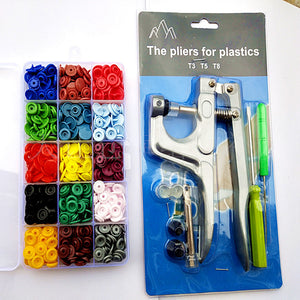 Plastic Snaps Hand Held Pliers Tool Set - OVER 30% OFF FOR SECOND ONE