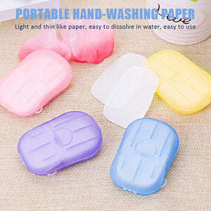 Portable Hand-Washing Paper - OVER 60% OFF