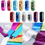 Nail Art Transfer Foils (Set of 12PCS)