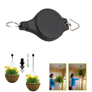 Retractable Hook For Garden Baskets Pots