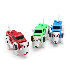Windup Automatic Transform Dog - 54% OFF