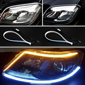 Car Flexible DRL Daytime Running Light and Turn Signal Light