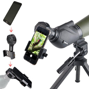 Telescope Binocular Quick Phone Mount - 50% OFF NOW