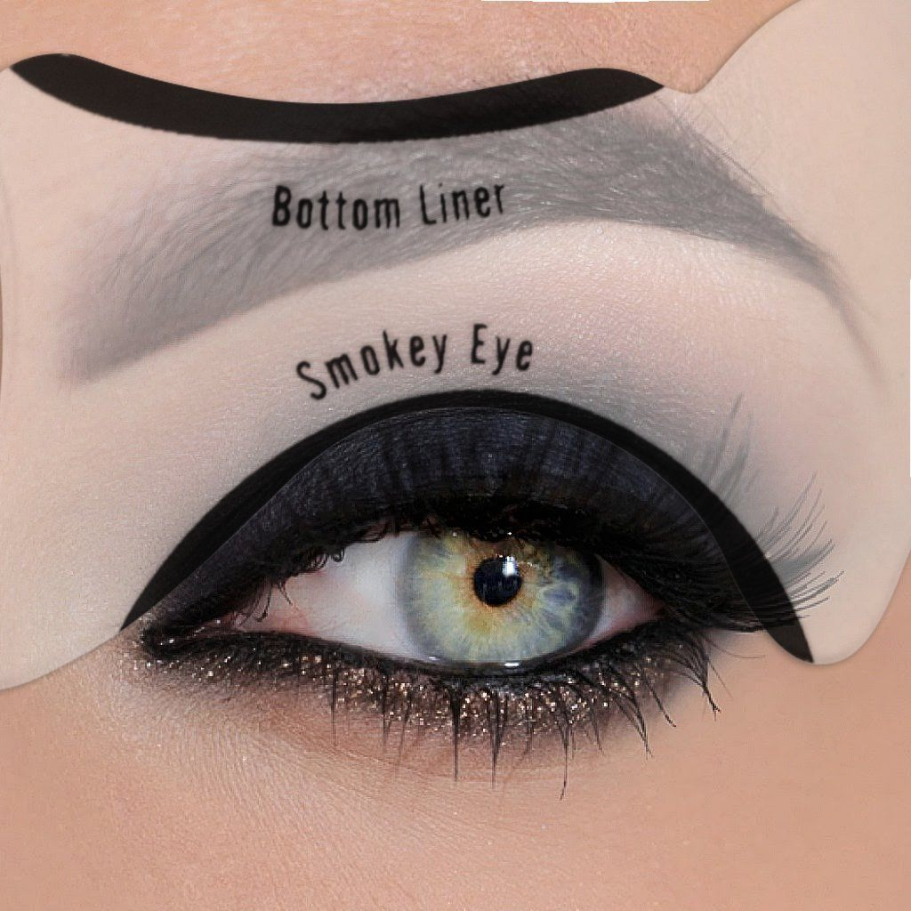 PRO Cat Eyeliner Stencils (2pcs Set)