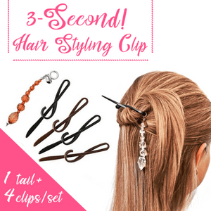 Twist n Clip (Holds your hair all day!)