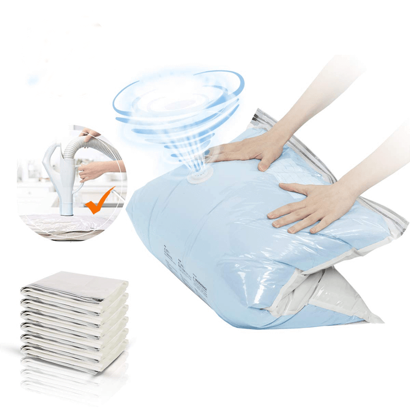 Free Hand Pump Vacuum Compression Bag - OVER 50% OFF