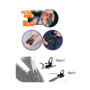 Instant Zipper (Set of 6 PCS) (2 Sets)