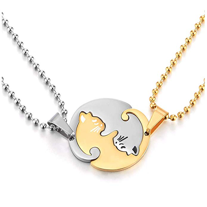 Cat Couple's Charms - OVER 50% OFF