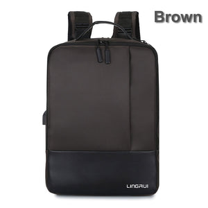 Anti-theft Laptop Backpack with USB Port