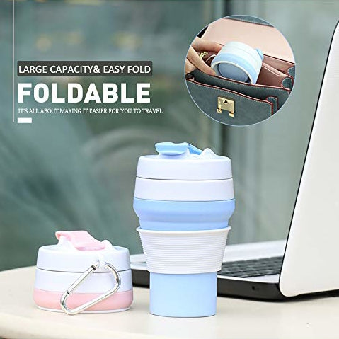 Collapsible Travel Silicone Cup -- 46% OFF