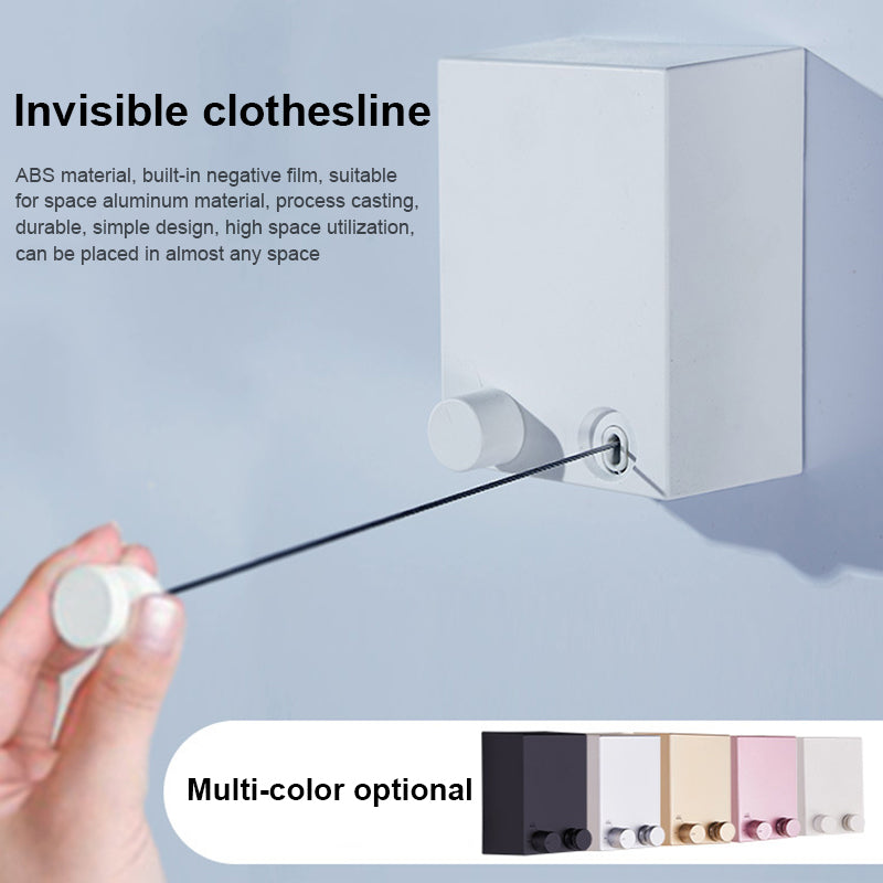 Telescopic Stainless String Invisible Clothesline - FREE SHIPPING
