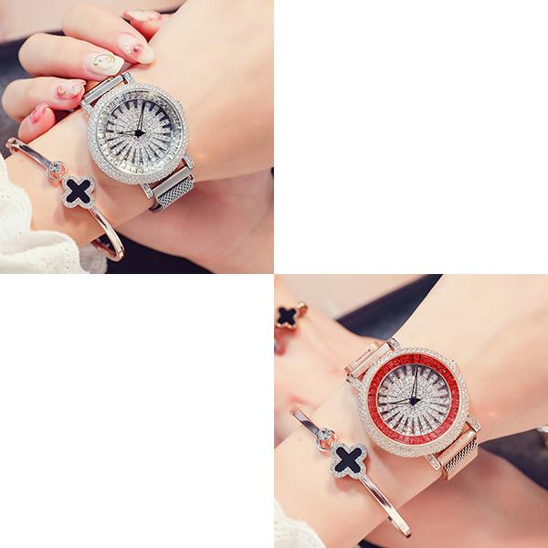 Fashion Luxury Waterproof Quartz Women Watch - 62.5% OFF NOW