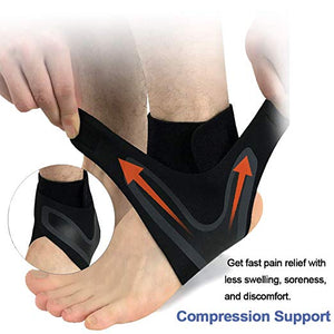 Compression Anti Sprain Ankle Sleeve Protective Wrap - 50% OFF