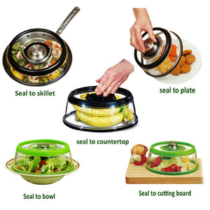 Vacuum Air Tight Food Sealer Containers Cover
