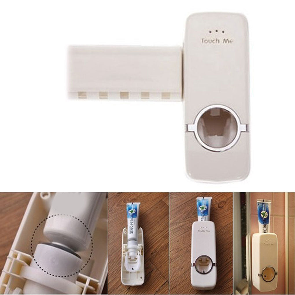 Automatic Toothpaste Dispenser & Toothbrush Holder - 50% OFF