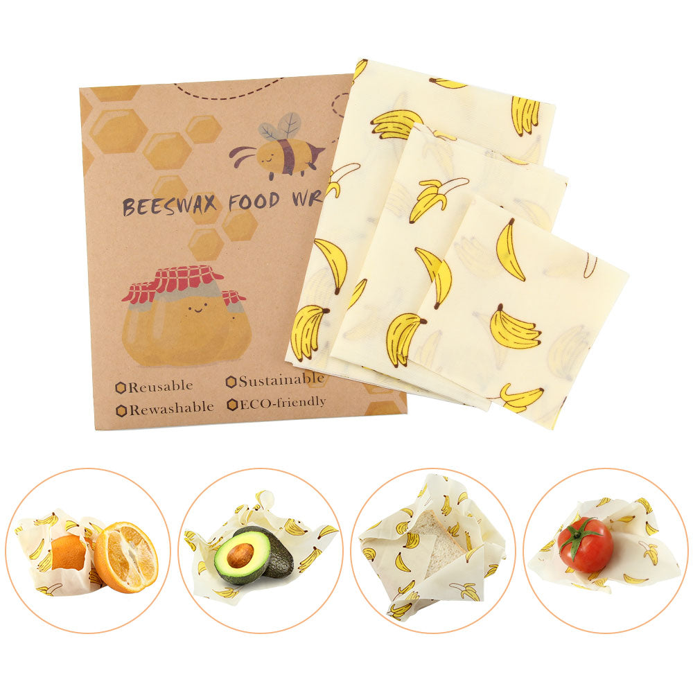 Food Wrap Starter Pack - 3 Wraps - 54% OFF NOW