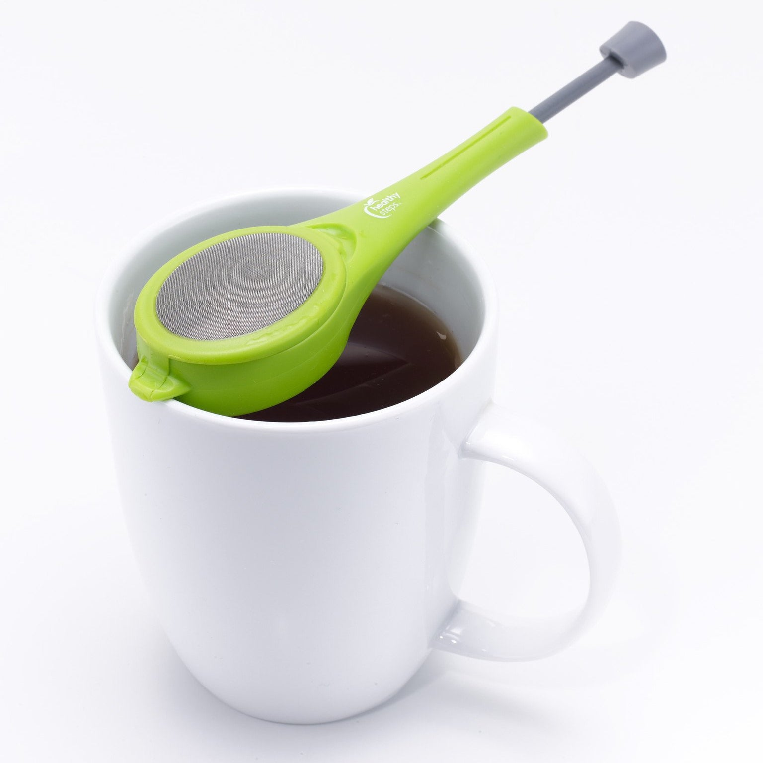 Tea Infuser & Spoon Strainer with Long Handle