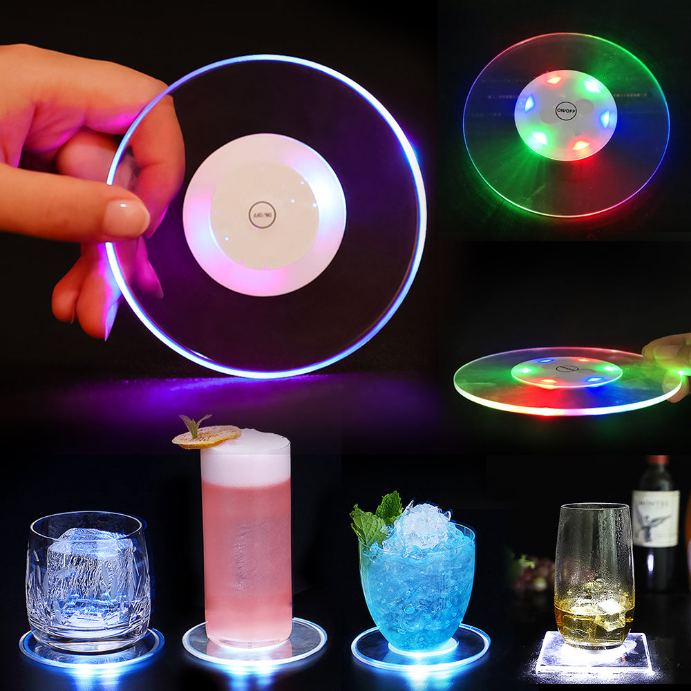 LED Glow Coaster - Buy One Get One Free