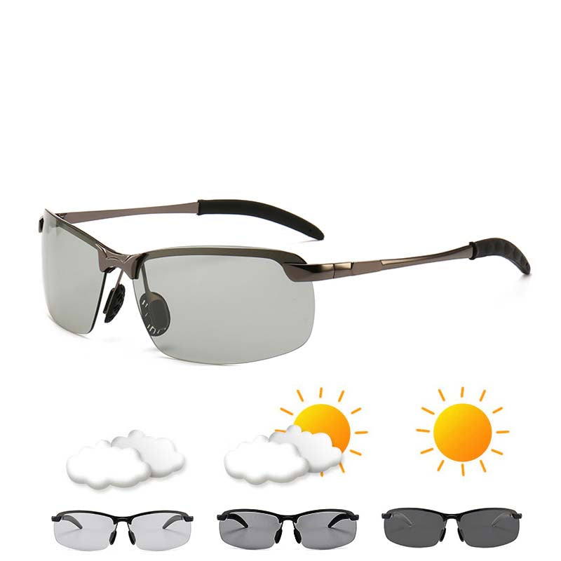Polarized Photochromic Sunglasses - 51% OFF
