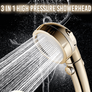 3 In 1 High Pressure Showerhead - 57% OFF