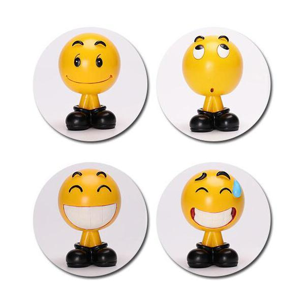 Super cute car emoji decoration - 60% OFF