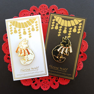 Shrine Familiars B-Grade Pins!