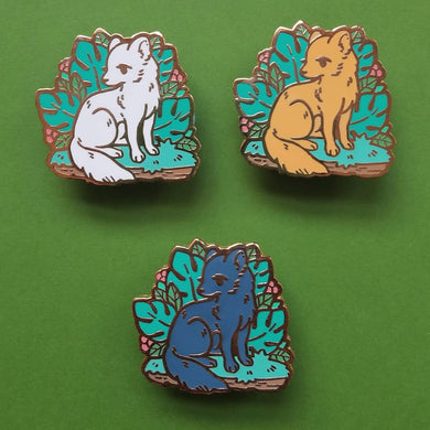 Amazon Rainforest Charity Pin - Short-Eared Dog
