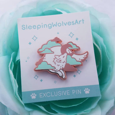 SleepingWolvesArt - Logo Pin