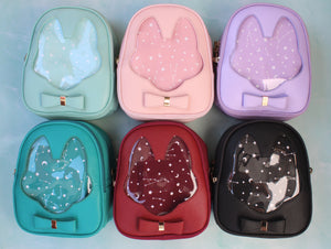 Foxy Ita Bag - Mini Backpack / Crossbody Bag