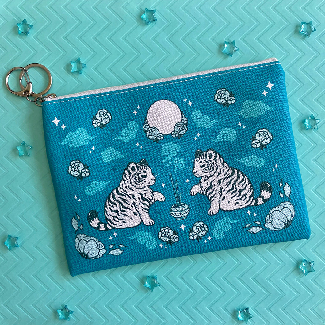 White Tiger Pouch