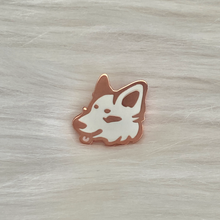 Load image into Gallery viewer, Blep Wolf Head Pins