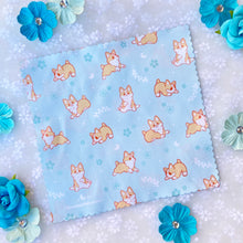 Load image into Gallery viewer, Garden Corgi Microfiber Cleaning Cloth
