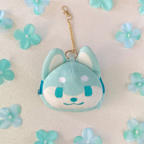 Doggo Plush Pouch - Mint