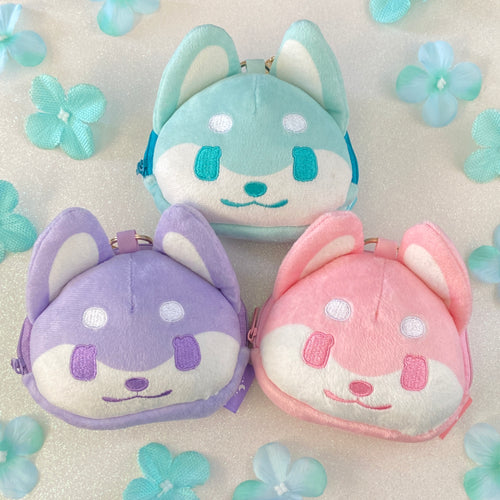 SECONDS Doggo Plush Pouches