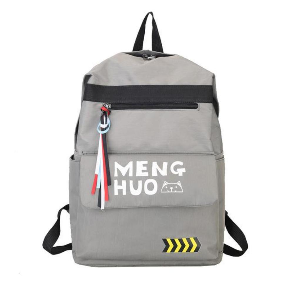 Menghuo 2017 Fashion High Quality Tassel Ribbon Women Backpack School Bag for Girls Boys Men Backpack sac a dos femme Mochilas - TendanceBoutique.fr