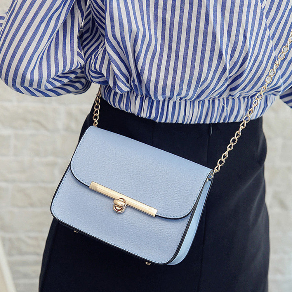Mini Casual Small Messenger Bags New Women Handbag with Mortise Lock Clutch Ladies Party Purse Famous Designer Shoulder Bags - TendanceBoutique.fr