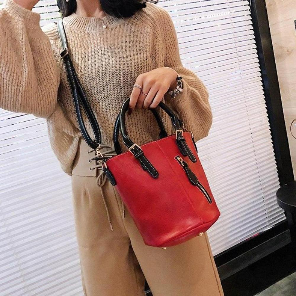 2018 New Women Bag Regular Large Capacity Soft Face Adjustable Shoulder Strap Side Zipper Women Messenger Bags Evening Party Bag - TendanceBoutique.fr