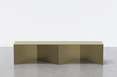 Tack Bench in Brass