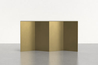 Tack Console in Brass